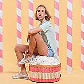 Woouf Pink Cupcake Bean Bag