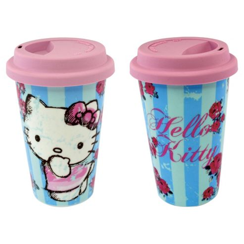 Hello Kitty Travel Mug Blue