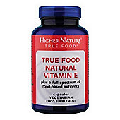 Higher Nature True Food Vitamin E Natural 180 Veg Tablets