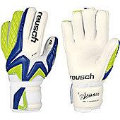 Reusch Waorani Pro G2 Bundesliga Goalkeeper Gloves - White