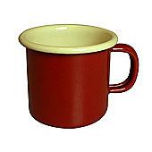Dexam Vintage Home Single Espresso Mug, Claret Red