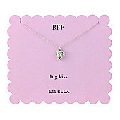 Little Ella Children's Crystal Heart Pendant