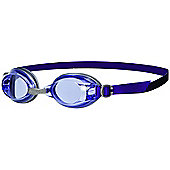 SPEEDO Jet Senior Adult UV Anti Fog Swimming Goggles - Purple