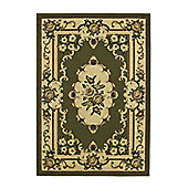 Oriental Carpets & Rugs Marakesh Light Green Rug - 320cm L x 240cm W