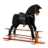 Large Rocking Horse Black Beauty