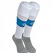 2011-12 Sunderland Umbro Away Football Socks - White