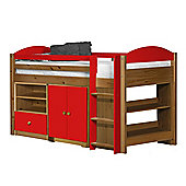 Maximus Mid Sleeper Set 2 Antique With Red Details