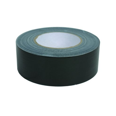 Heavy Duty Rhino Cloth Fabric Gaffer Tape Black 50M