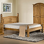 Home & Haus Corona Low End Bed Frame - King