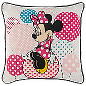 Disney Minnie Mouse Lost in Dots Cushion TESCO EXCLUSIVE