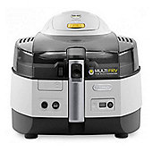 Delonghi FH1363 Extra Multifry Air Fryer with 1.7kg Load Capacity in Grey/Black