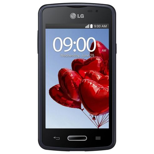 Tesco Mobile LG L50 Black/Blue