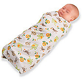 BreathableBaby Pocket Swaddles Fashion Collection in Safari Animals