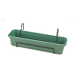 Stewarts Balcony Trough Set 60cm Green