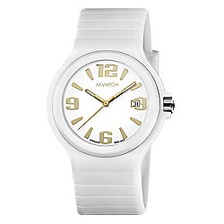 M-Watch Maxi Colour Unisex Resin Day & Date Watch A661.30615.10.01