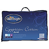 Silentnight Egyptian Cotton Single Duvet 4.5 Tog