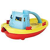 Green Toys TUG01R-B Tugboat (Blue)