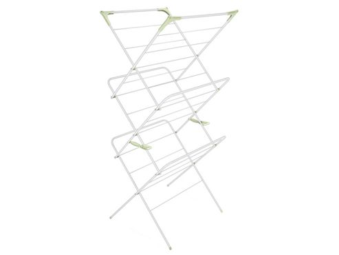 Addis 507312 3 Tier Airer White/Pale Green