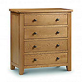 Home Zone Marlborough 4 Drawer Chest