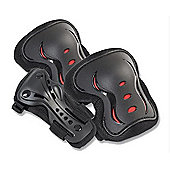 SFR Essential Knee, Wrist and Elbow Triple Pad Set - Black Medium