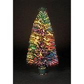2ft Sunburst Fibre Optic Christmas Tree