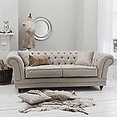 Gallery Francesca 3 Seater Sofa - Natural Linen