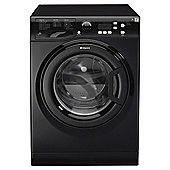 Hotpoint Extra WMXTF842K Washing Machine, 8Kg Wash Load, 1400 RPM Spin, A++ Energy Rating, Black