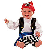 Pirate - Toddler Costume 1-2 years