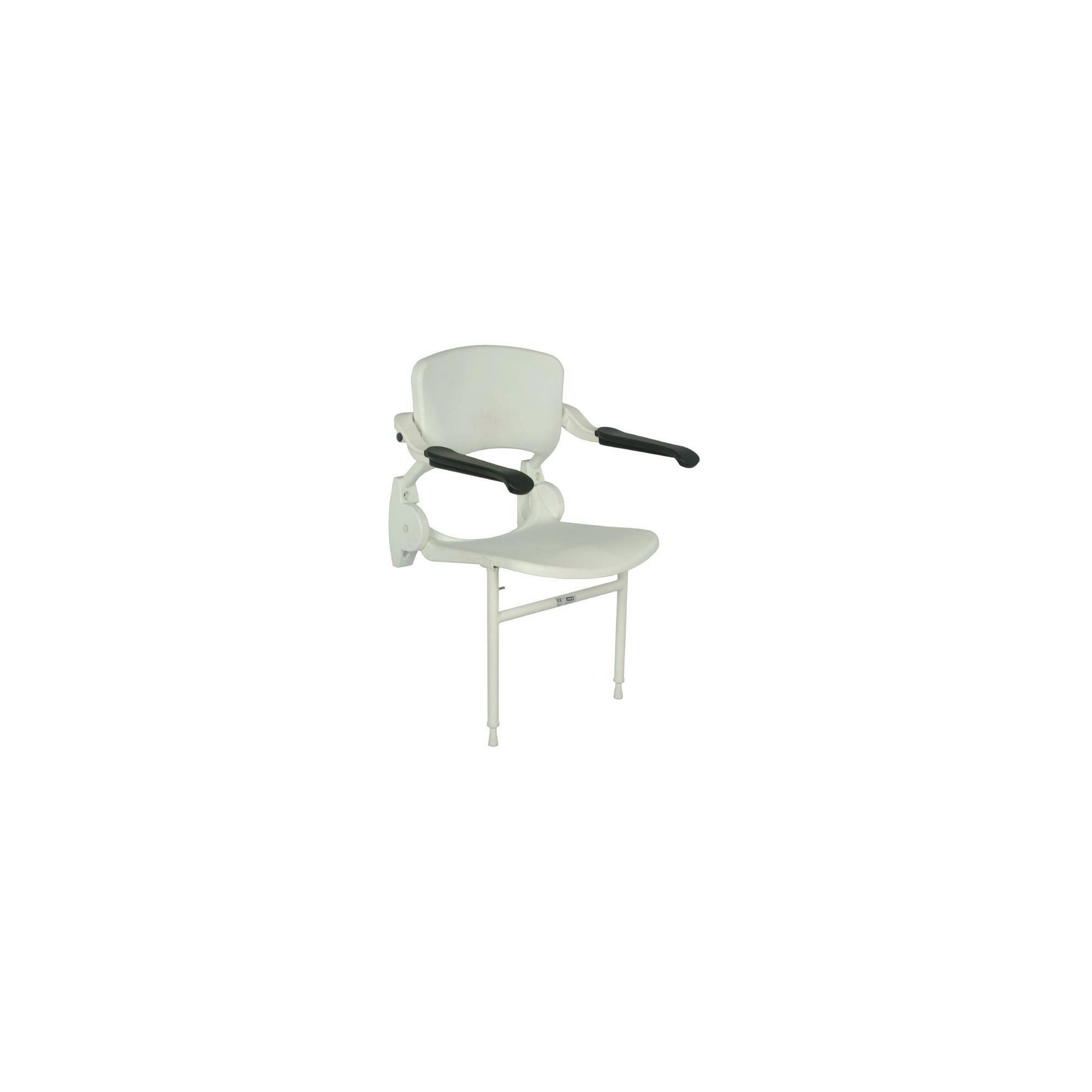 Impey Deluxe Ergonomically-Curved Shower Seat with Support Legs at Tesco Direct