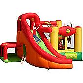 15ft Formula 1 Kids Double Mega Slide Combo Bouncy Castle 9026