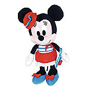 "10"" I love Minnie in Sailor Dress"