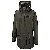 Craghoppers Ladies Madigan Long Waterproof Jacket - Green