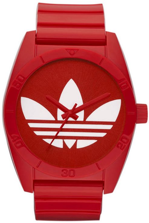 Adidas Unisex Red Sports Watch ADH2655