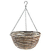 16 inch Natural Hanging Basket