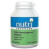Nutri Ltd Msm 180 Capsules