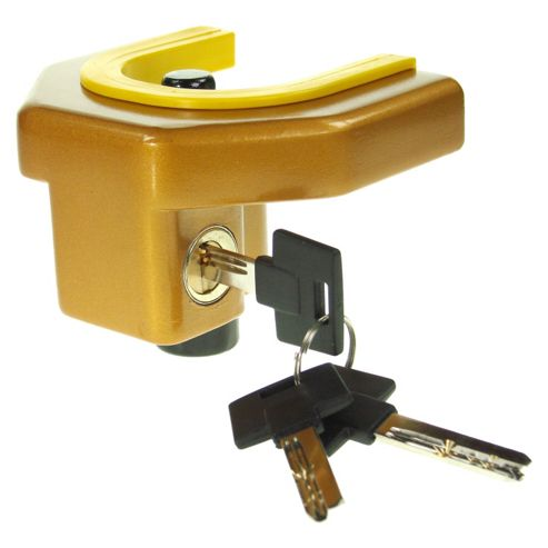 Trailer and Caravan Security Coupling Lock
