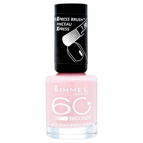Rimmel London 60 Seconds Nail Polish 262 Ring O' Roses 8ml