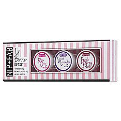 Nip+Fab Rose & Sweet Lip Butter Gift Set