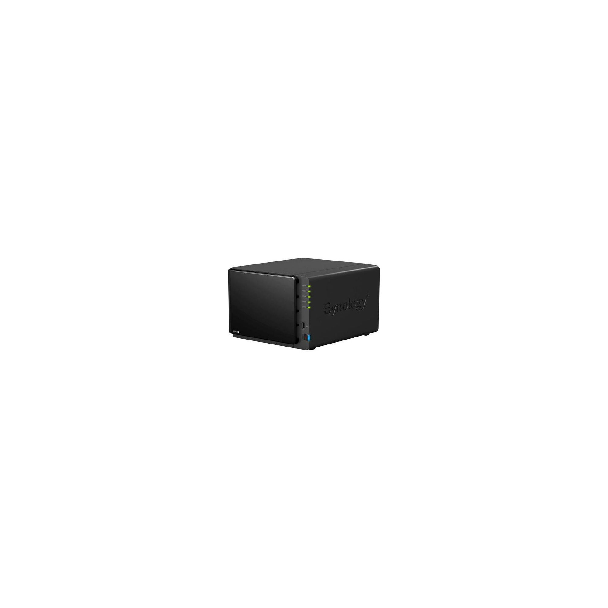 Synology DS412+ High Performance 4-Bay (0TB) NAS Server Enclosure at Tesco Direct