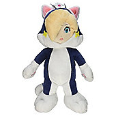 "Official Nintendo Super Mario Plush Series Stuffed Toy - 9"" Cat Rosalina"