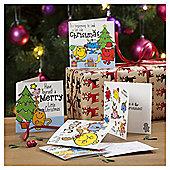 Mr Men Christmas Cards, 20 pack