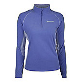 Ashbourne Womens Walking Hiking Thermal Warm Fleece - Blue