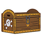 Pirate themed treasure chest toybox