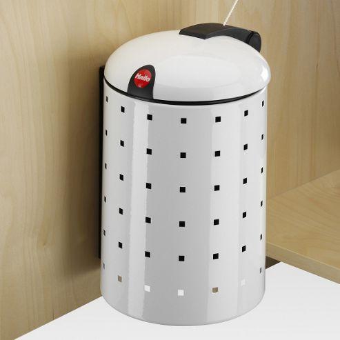 Hailo Sienna Uno 4 Cupboard Cosmetics Bin in White