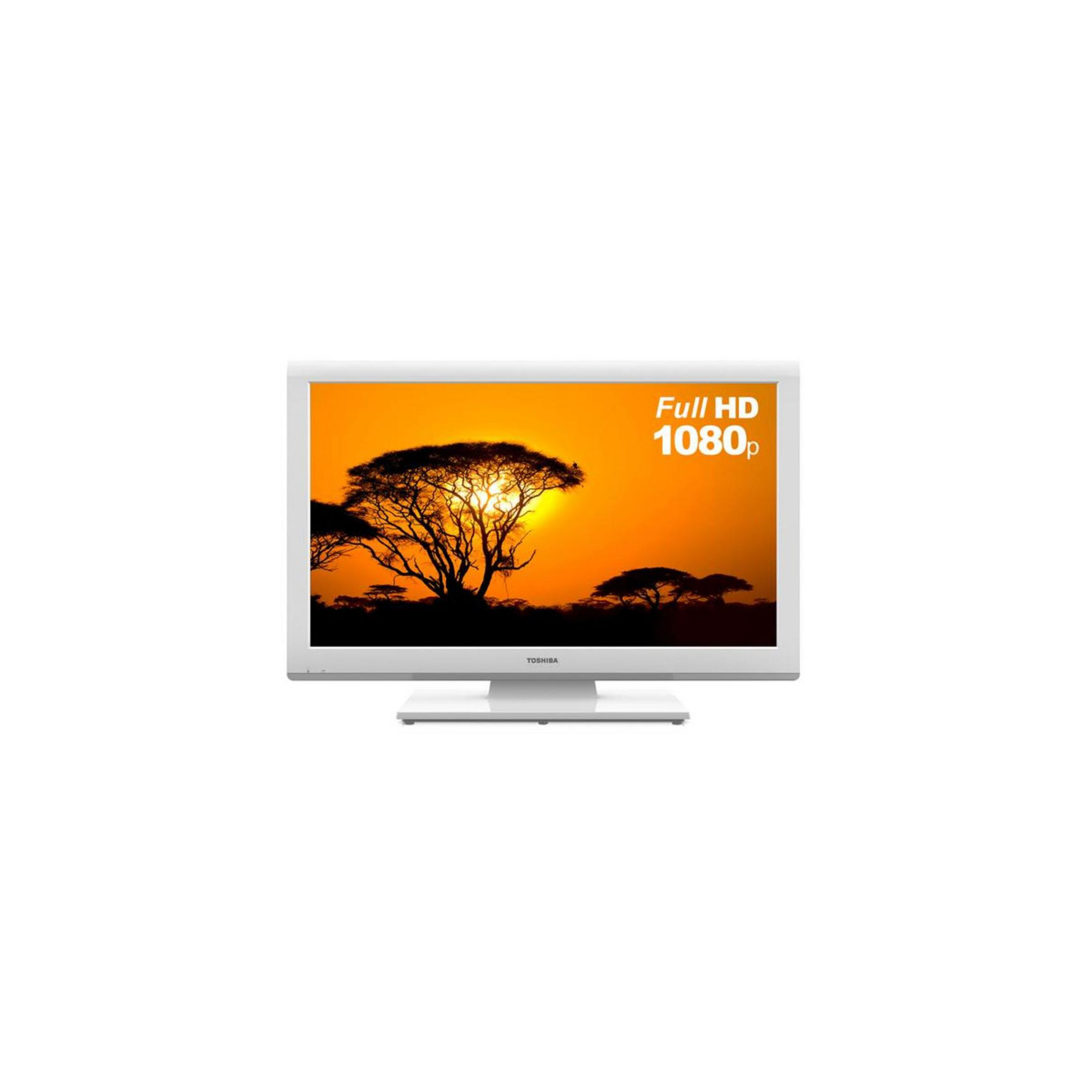 Toshiba 26DL934B (26 inch) LED Television with Built-In DVD Player 350cd/m2 1366×768 20ms (White)