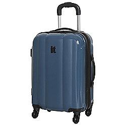 IT Luggage Mojave 4-Wheel Small Legion Blue Suitcase
