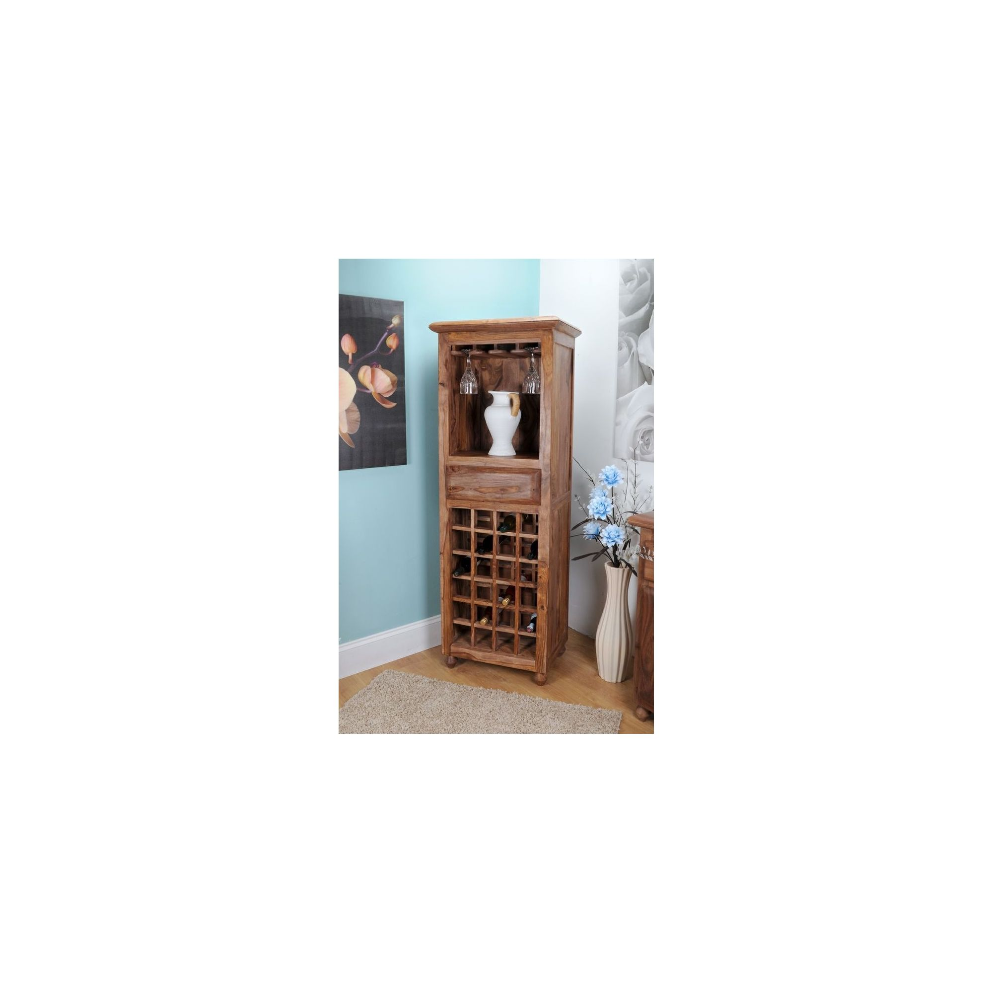 Shankar Enterprises Mundra Wine Rack at Tesco Direct
