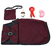 Rocking Horse Accessory Pack Burgundy