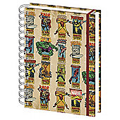 Marvel Icons A5 Notebook