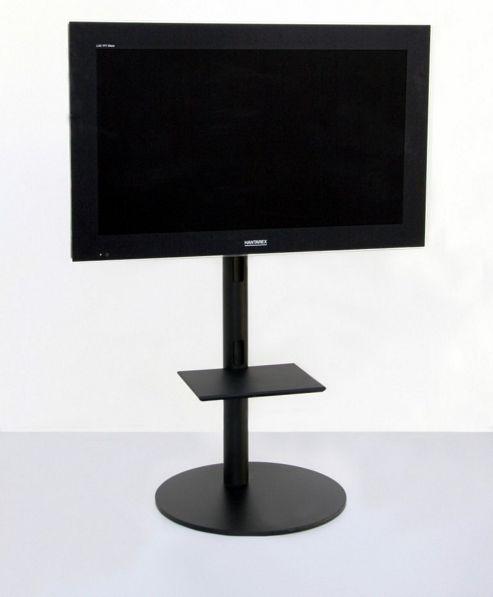 OMB Pedestal 1 TV Stand - Black